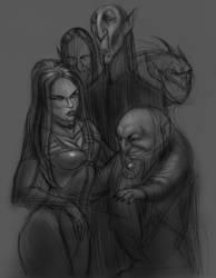 Vampire Guidos by AlexRuizArt