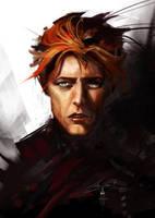 Bowie by AlexRuizArt