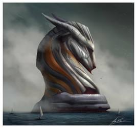 Sea Horse by AlexRuizArt
