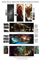 Concept Art Video Bundle by AlexRuizArt