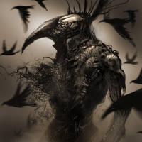 King Raven by AlexRuizArt
