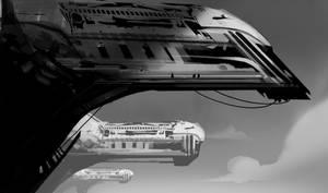 Monorailis by AlexRuizArt