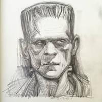 Frankenstein by AlexRuizArt