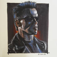Terminator by AlexRuizArt