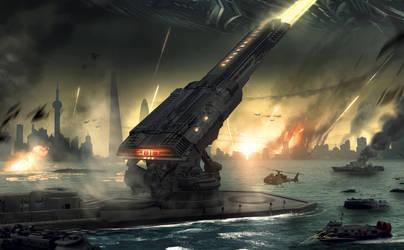 Mega Cannon by AlexRuizArt