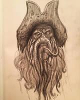 Davy Jones by AlexRuizArt