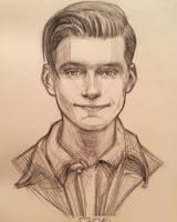 George McFly by AlexRuizArt