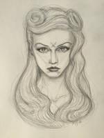 Gwen Stefani by AlexRuizArt