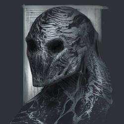 Mummy Zombie Guy by AlexRuizArt