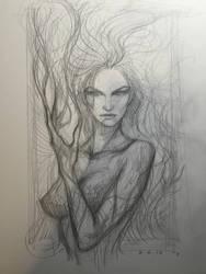Poison Ivy by AlexRuizArt