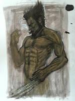 Wolverine by AlexRuizArt