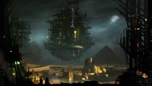 Future Egypt by AlexRuizArt