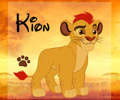 The Lion Guard Reference Sheet: Kion by Rethza