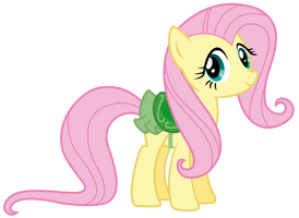 Fluttershy green saddle by thatguy1945