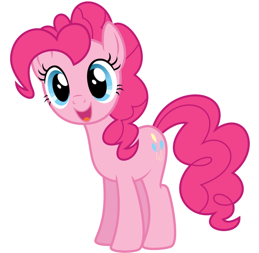 Happy Pinkie Pie by thatguy1945