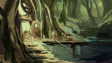 Ogre swamp by Razzleluff