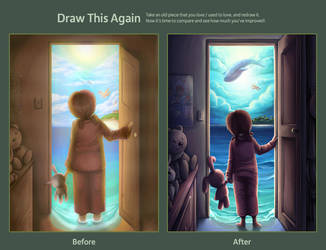 Draw This Again - Escape from Reality by Snow-the-Wanderer