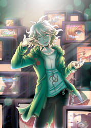 Komaeda's Ultimate Resolve by Snow-the-Wanderer