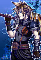 Cloud Strife by KwnBlack