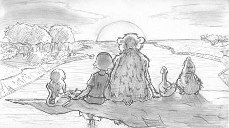Big Little Bear by lewzerkid