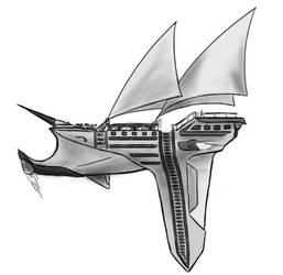 Airship by lewzerkid