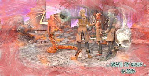 Hell Kingdom by dikev