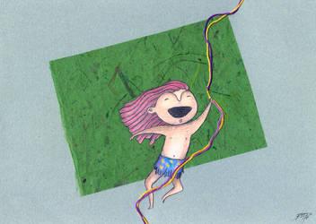 Tarzan de los Monkeys by OokamiEstudio