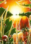 Fantasy sunset by Diaris