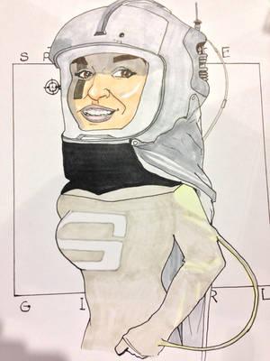 Spacegirl2 by Hamiltoons
