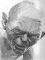 Gollum by Pachecoart