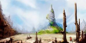 Fantasy Landscape by Pachecoart