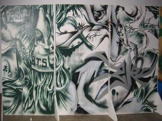 Graffiti Freestyle by Dmonixz