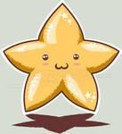 Mandioca Estampa 1- star by KEEPERMAKY