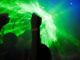 the green laser by s3xyyy
