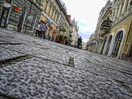 The Main Street in Oradea by s3xyyy