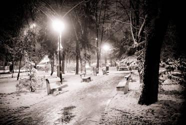 winter lights by s3xyyy