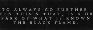 Black Flame by vladdelucius