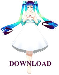 TDA Little Parade Miku [DOWNLOAD] by TheLadyAthena