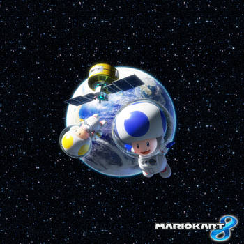 Mario Kart 8 - Blue and Yellow Toads by Legend-tony980
