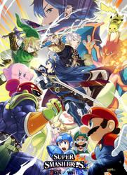 Super Smash Bros. for Nintendo 3DS / Wii U Artwork by Legend-tony980