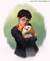 Harry Potter and the Little Owl Starter by Aliciane