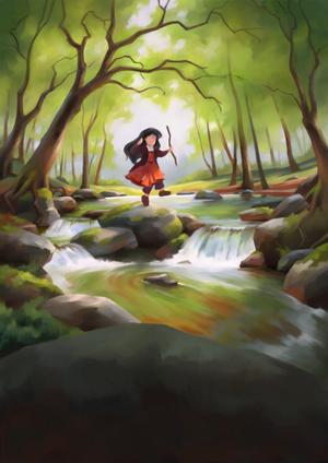 Into the Woods - Prerendering by Aliciane