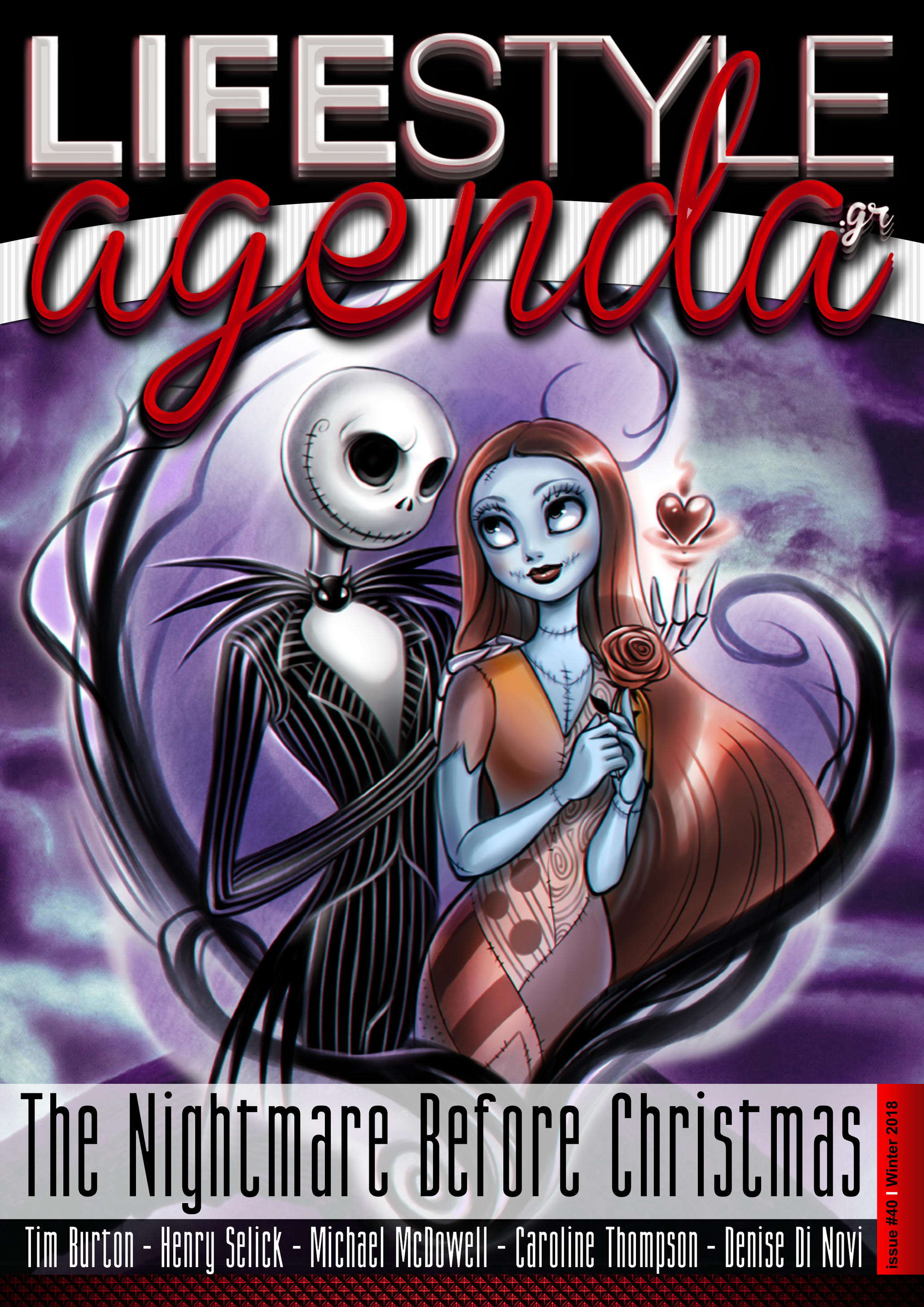 LifeStyle Agenda issue #40th / Magazine Cover by LifeStyleAgenda