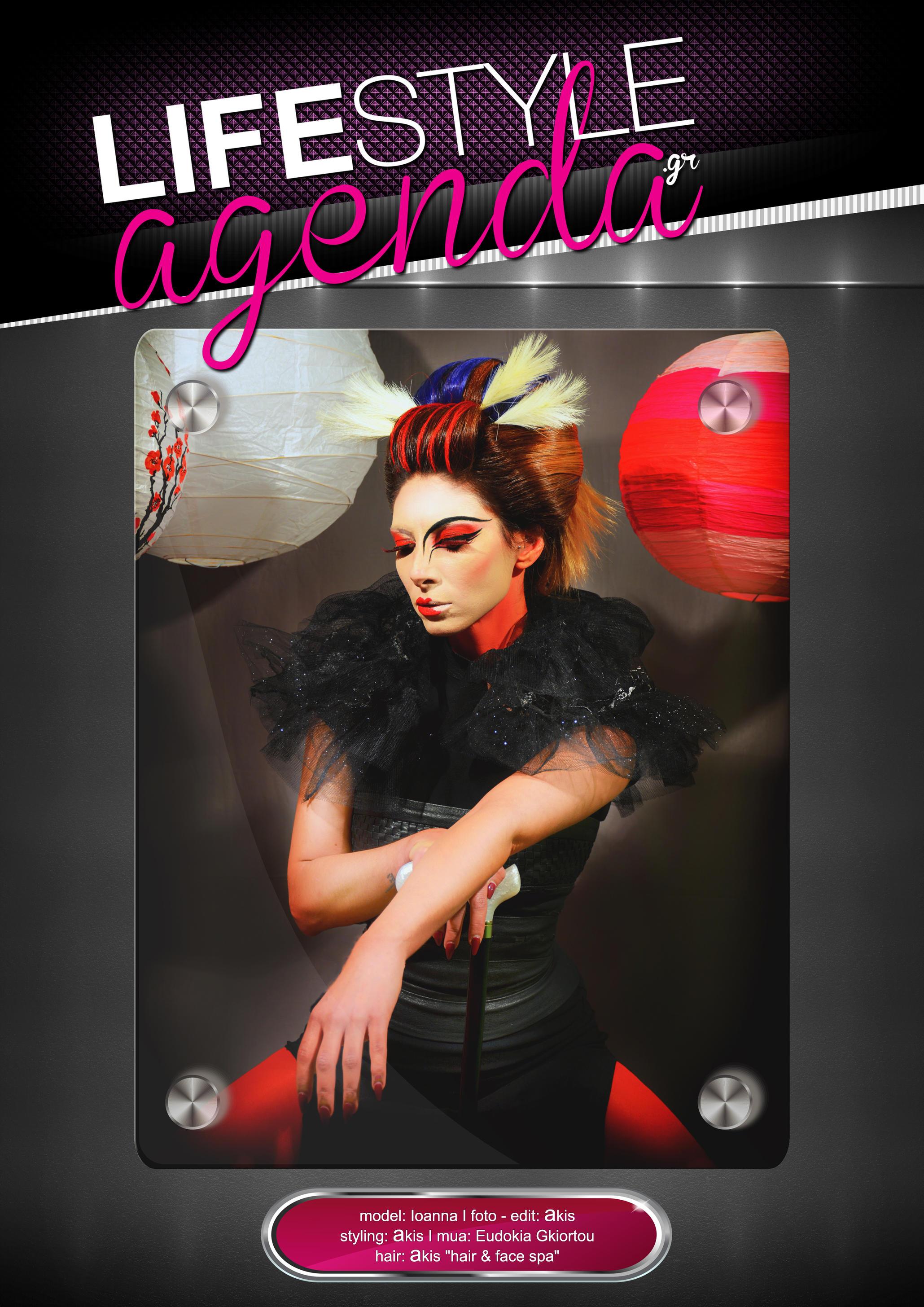 LifeStyle Agenda issue#41st / Magazine Back Cover by LifeStyleAgenda