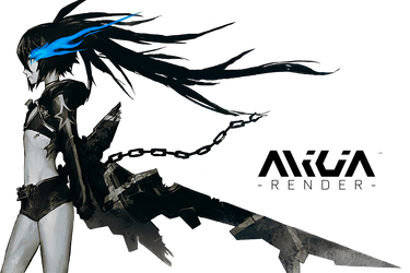 Black Rock Shooter - Render by alic1a02