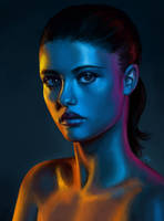 Light practice 3 by maaya-art