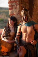300 rise of an empire cosplay by Solipsis79