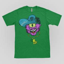 Skate Alien Shirt by AaronVanderHill