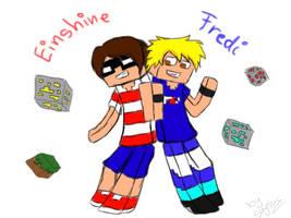 Einshine and Fredi by Skyelus