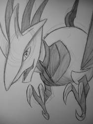 Another ultimate metal chicken (Skarmory) by Dauson